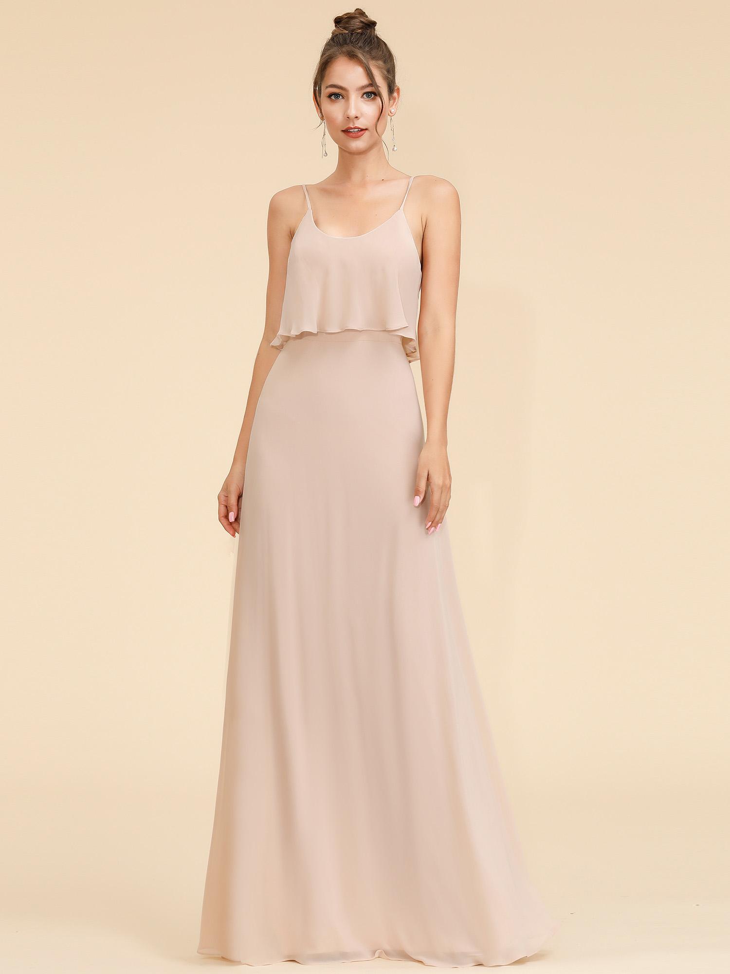 Ever-Pretty Long Elegant Gallus Formal Evening Wedding Formal Party Dress 07131