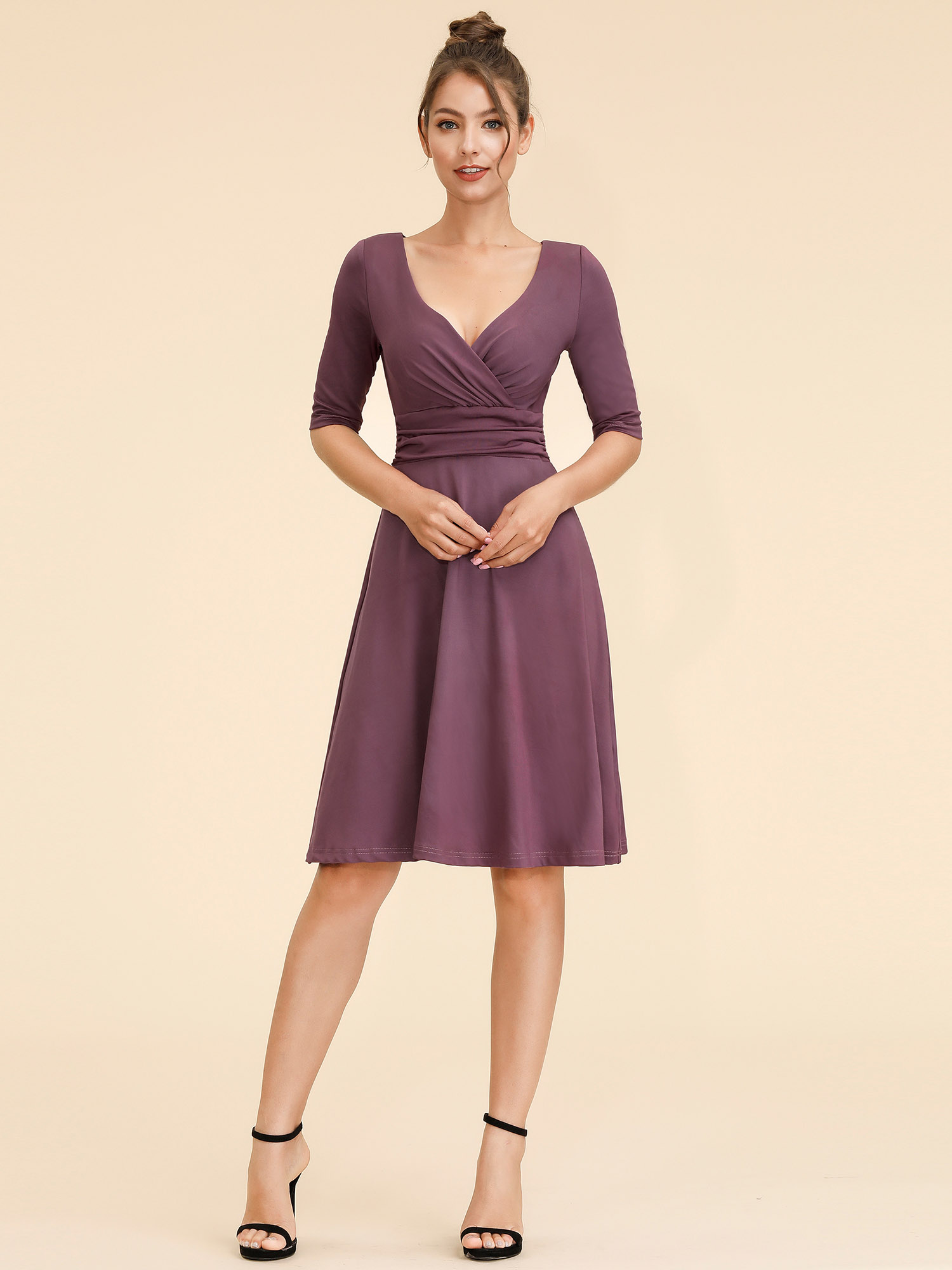 women short sexy sleeves prom party casual cocktail club