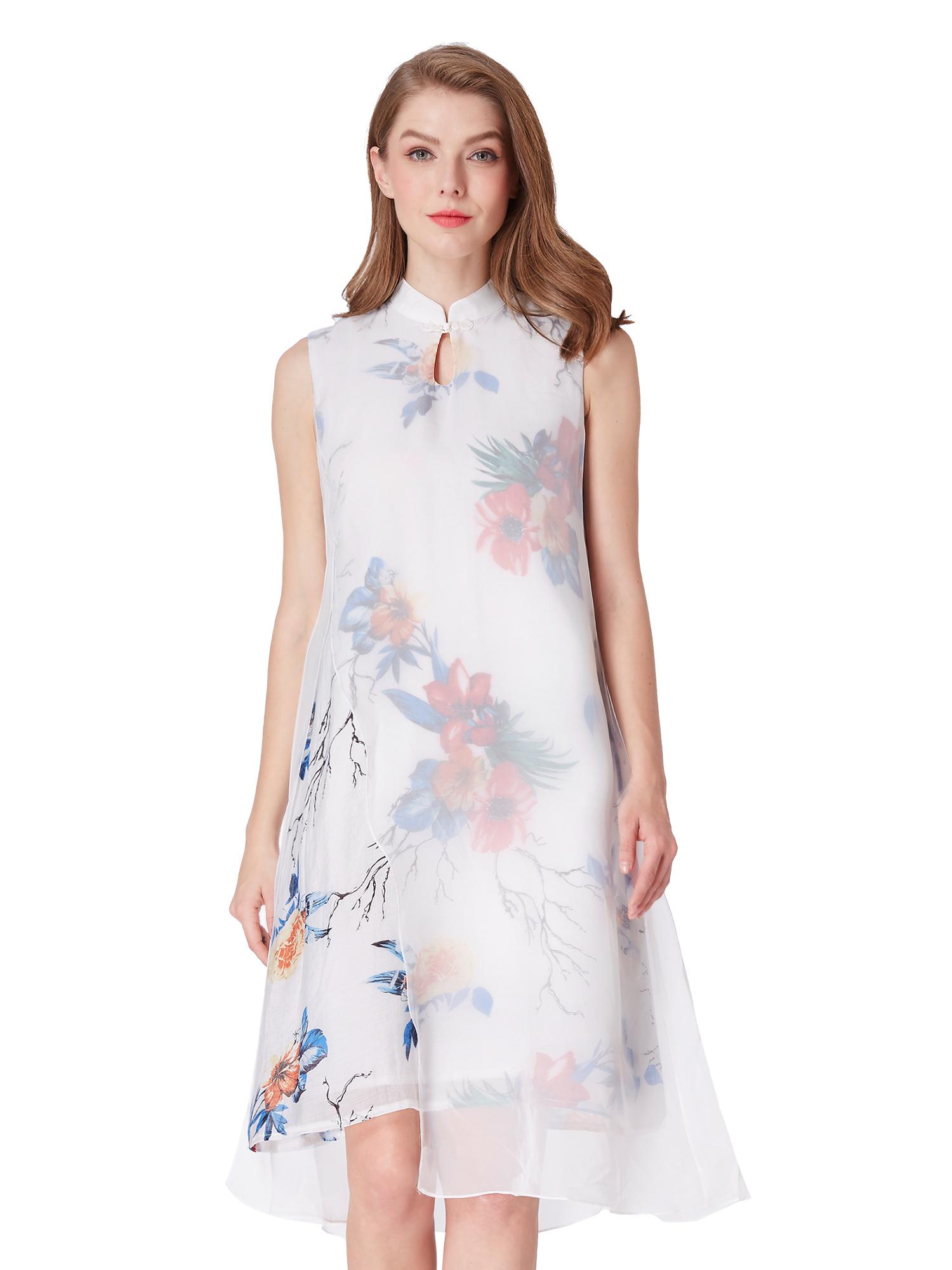 Alisa-Pan-Cocktail-Party-Dresses-Floral-Split-Short-Women-Casual-Gown-04001