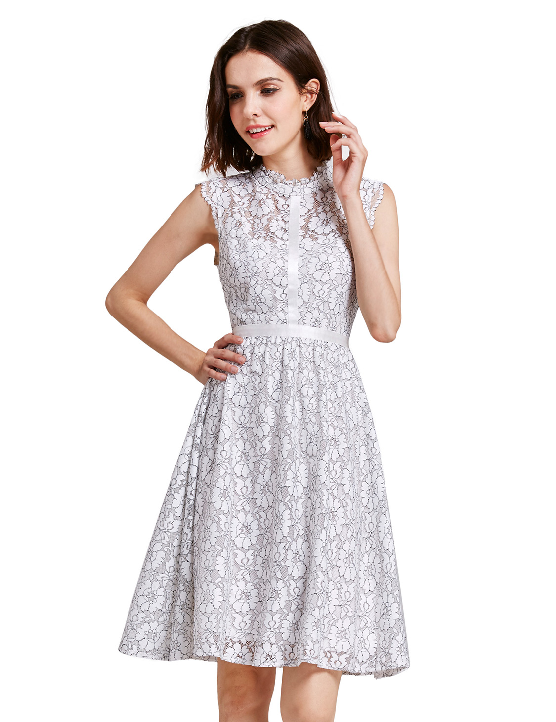 Alisa-Pan-Cocktail-Party-Dresses-White-Lace-Short-Summer-Evening-Dress-05867