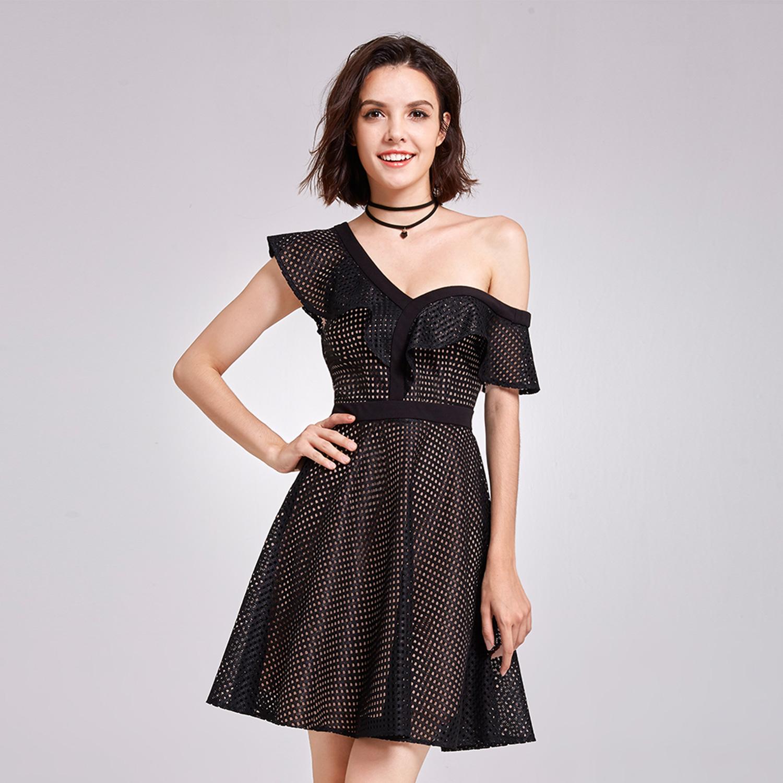 Alisa-Pan-One-Shoulder-Cocktail-Dresses-Black-Short-Evening-Dress-05888-Sz-8-20