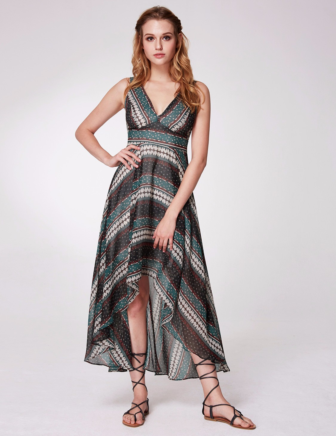 High Neck Beach Dress