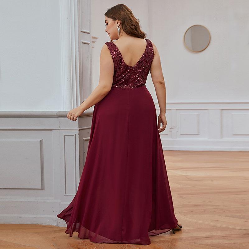 Ever-Pretty High Low Beadings Chiffon Formal Evening Dress ...