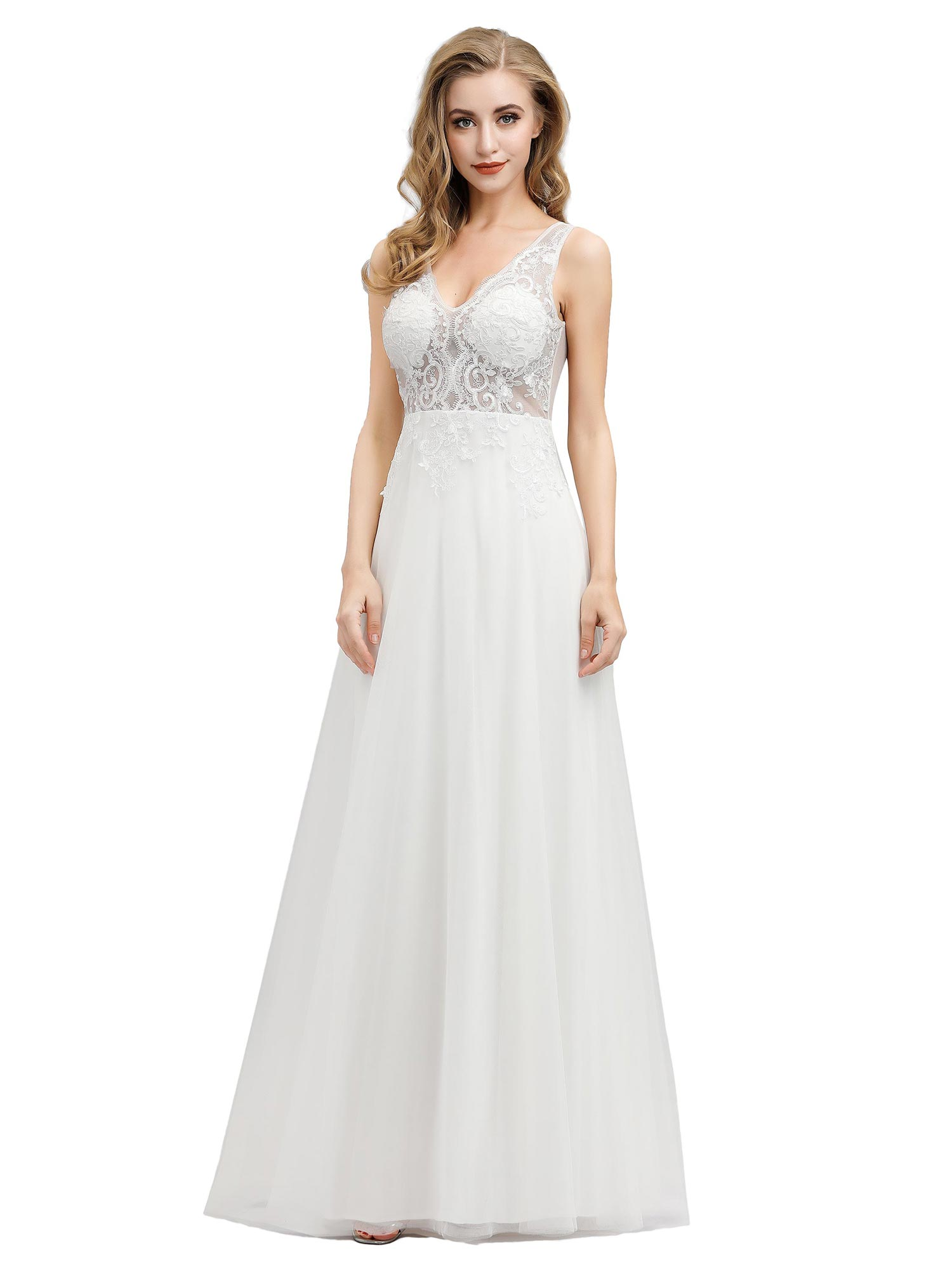 Ever-pretty-Sleeveless-Formal-Lace-Evening-Party-Dress-Cocktail-Homecoming-Prom thumbnail 4
