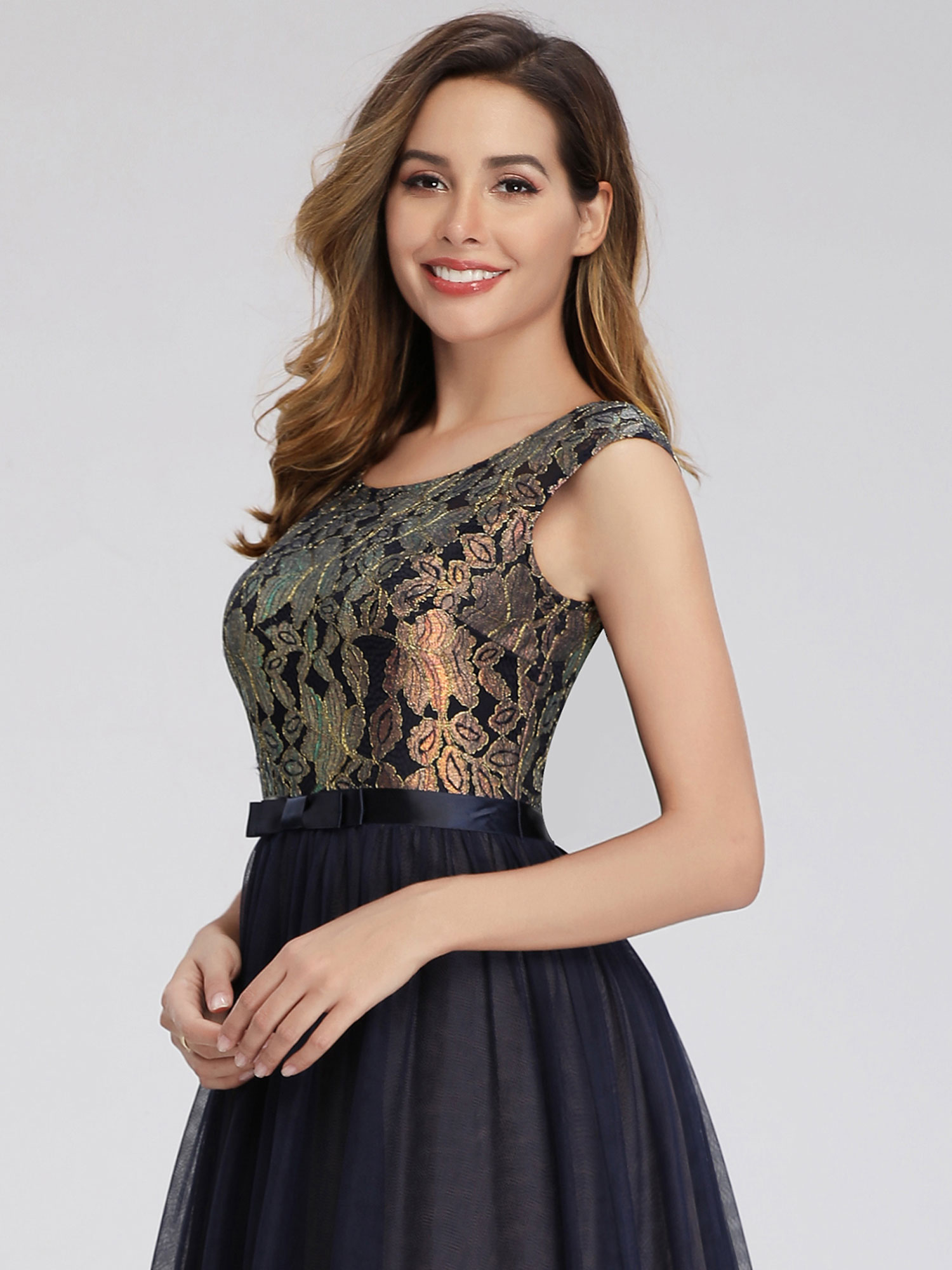 Ever-pretty-Formal-A-line-Evening-Gowns-Cocktail-Long-Lace-Homecoming-Prom-Dress thumbnail 8