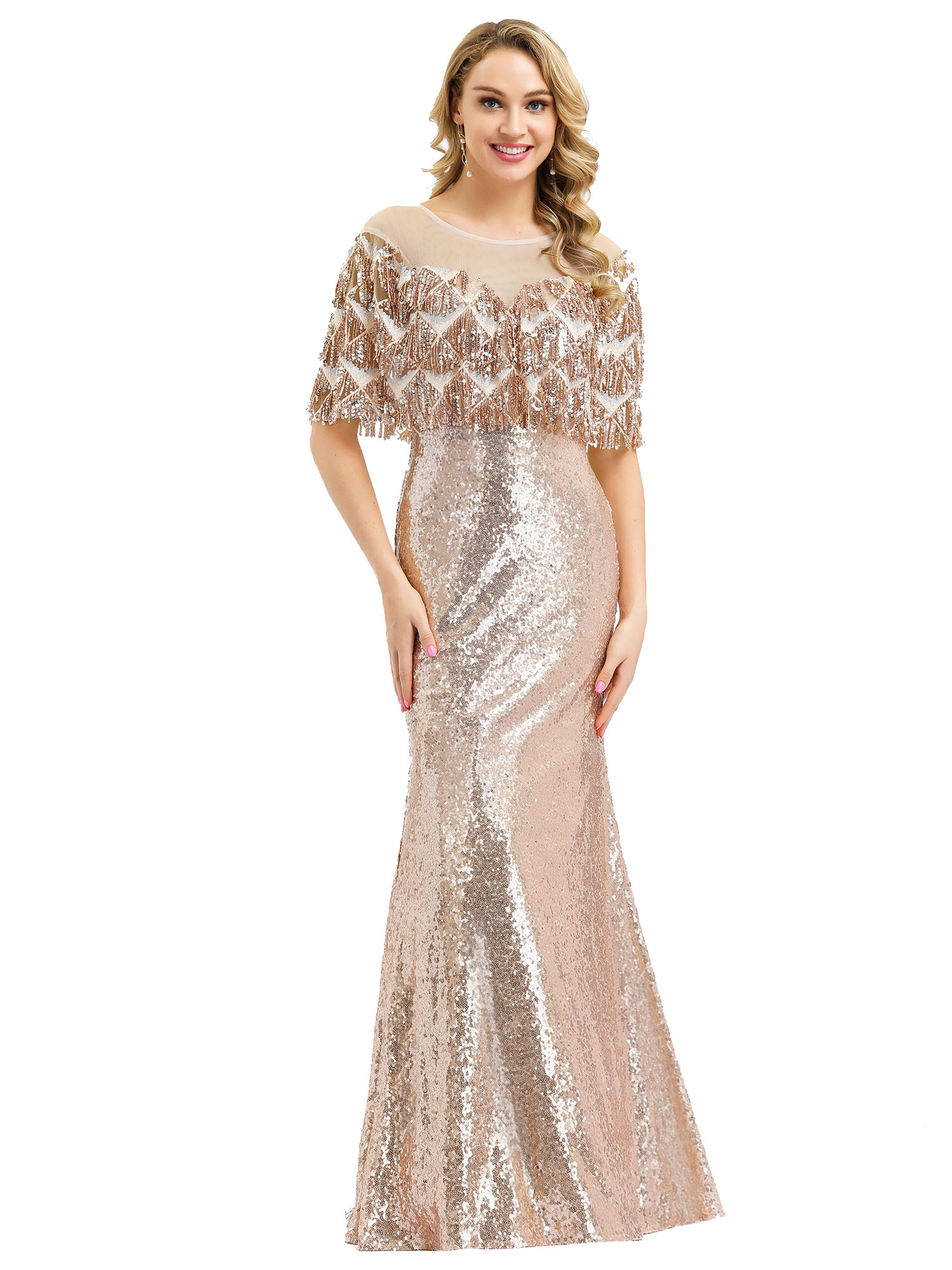 Ever-pretty-Formal-Celebrity-Party-Dresses-Mermaid-Evening-Cocktail-Prom-Gowns thumbnail 4