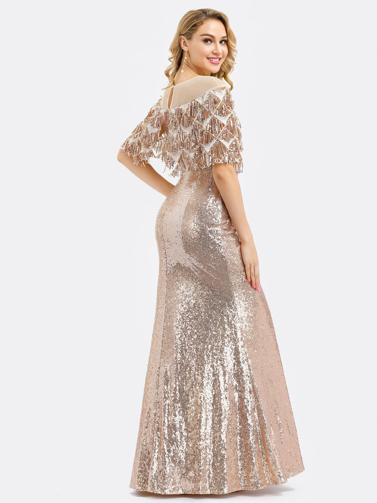 Ever-pretty-Formal-Celebrity-Party-Dresses-Mermaid-Evening-Cocktail-Prom-Gowns thumbnail 5
