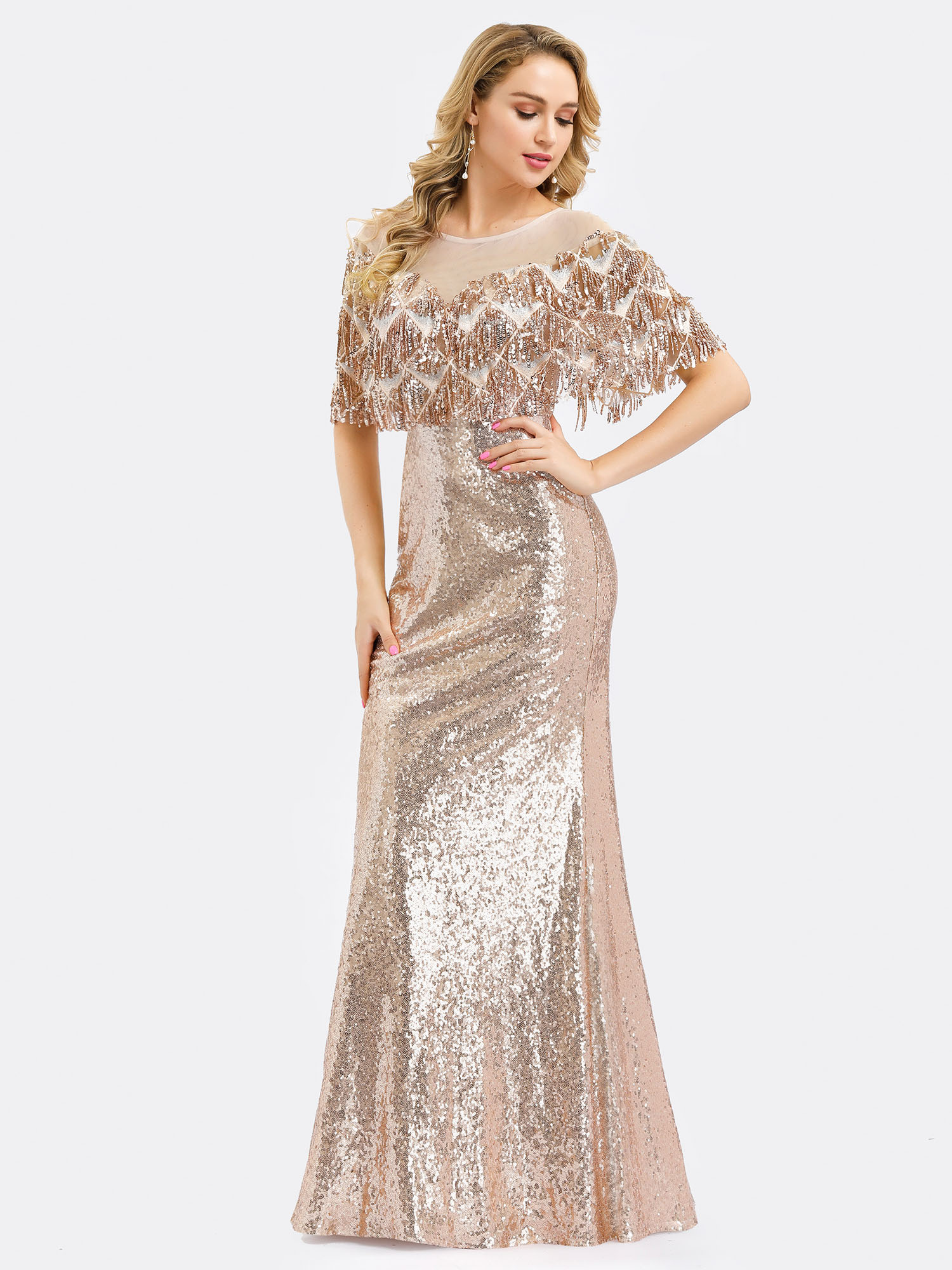 Ever-pretty-Formal-Celebrity-Party-Dresses-Mermaid-Evening-Cocktail-Prom-Gowns thumbnail 6