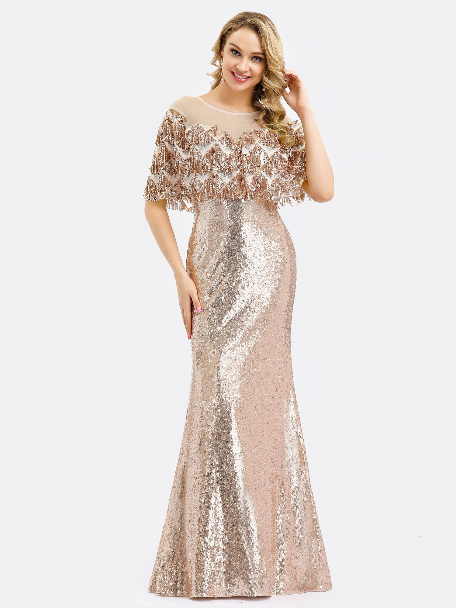 Ever-pretty-Formal-Celebrity-Party-Dresses-Mermaid-Evening-Cocktail-Prom-Gowns thumbnail 7