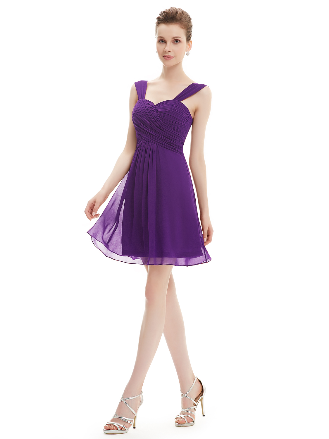 Ever-Pretty Short Bridesmaid Dresses Cocktail Party Prom Club Wear ...