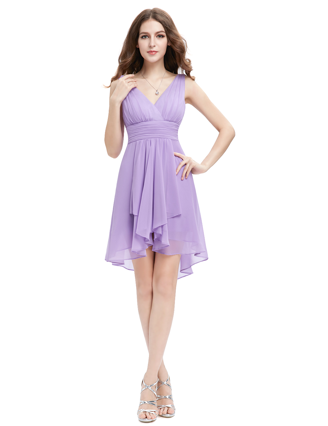 Ever-Pretty Short Chiffon Bridesmaid Dresses Party Prom Gown Formal ...