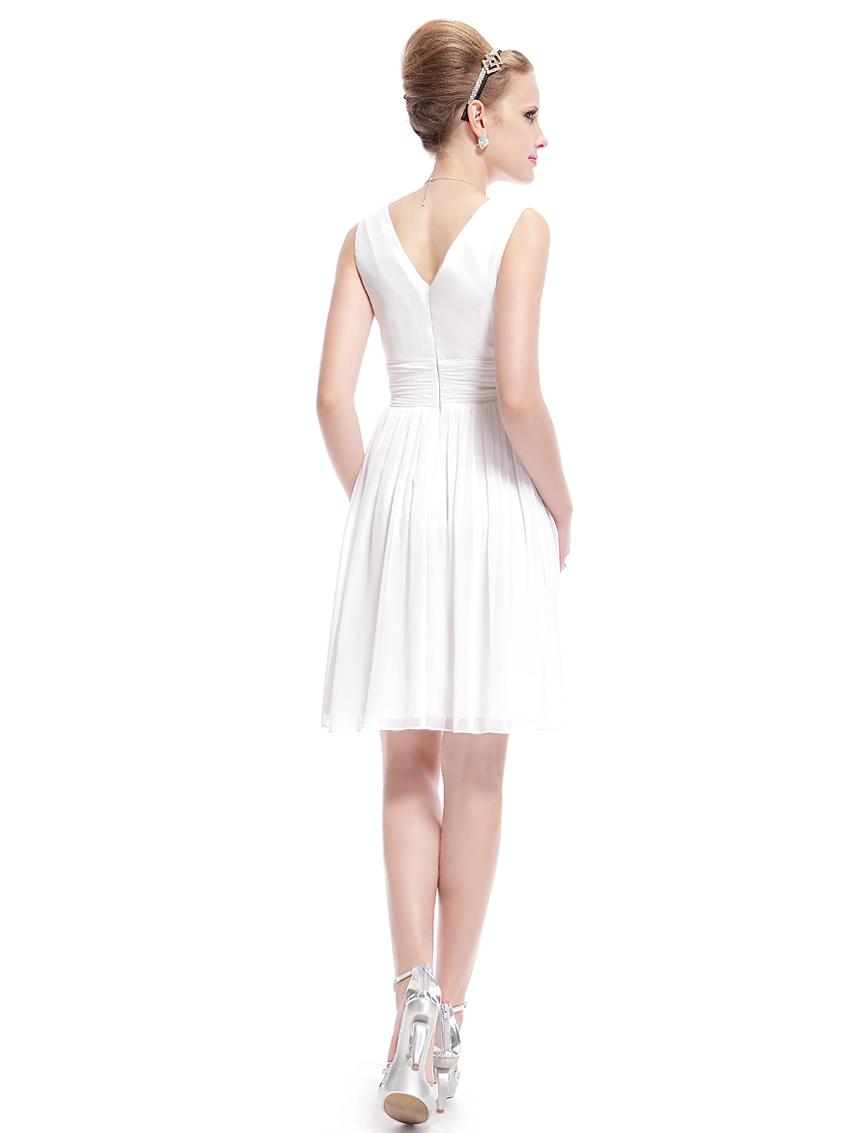 Ever-pretty-US-Short-Chiffon-Bridesmaid-Dresses-V-neck-Prom-Evening-Gown-03989