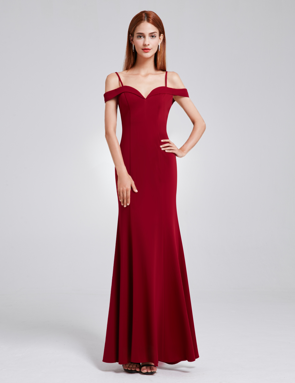 UK Long Womens Off-shoulder Evening Party Prom Bridesmaid ...