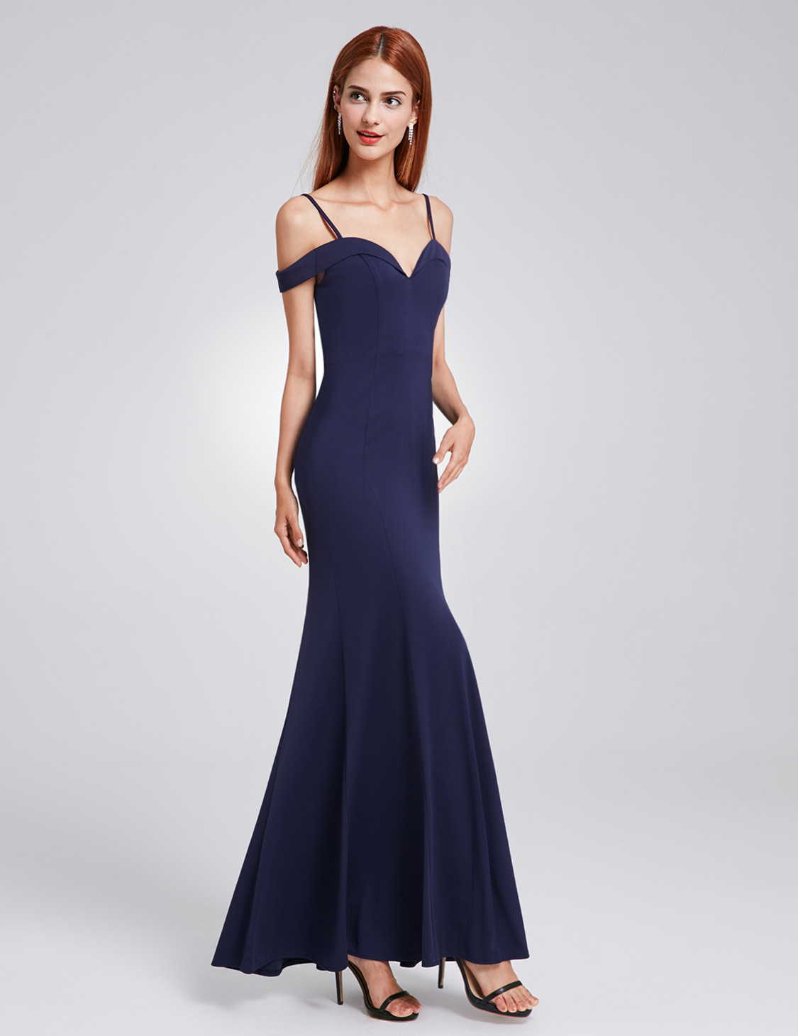 US Hot Lady Off-shoulder Long Bridesmaid Prom Gown Formal Evening ...