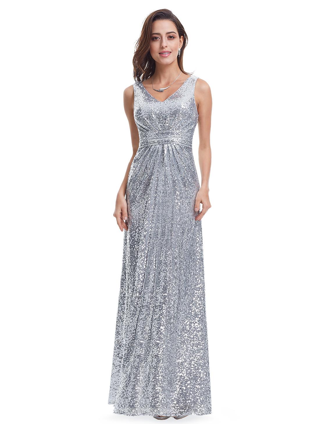 Women's Silver Formal ...
