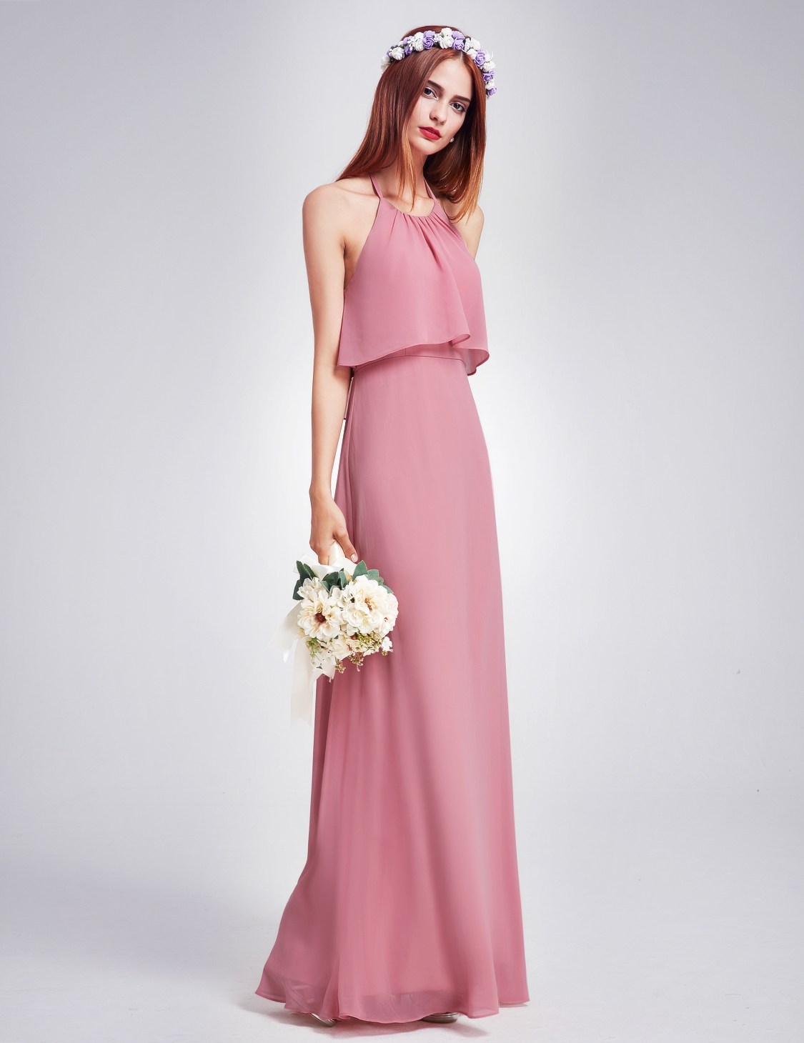 Ever-Pretty Long Wedding Dresses Gown Backless Evening Prom ...