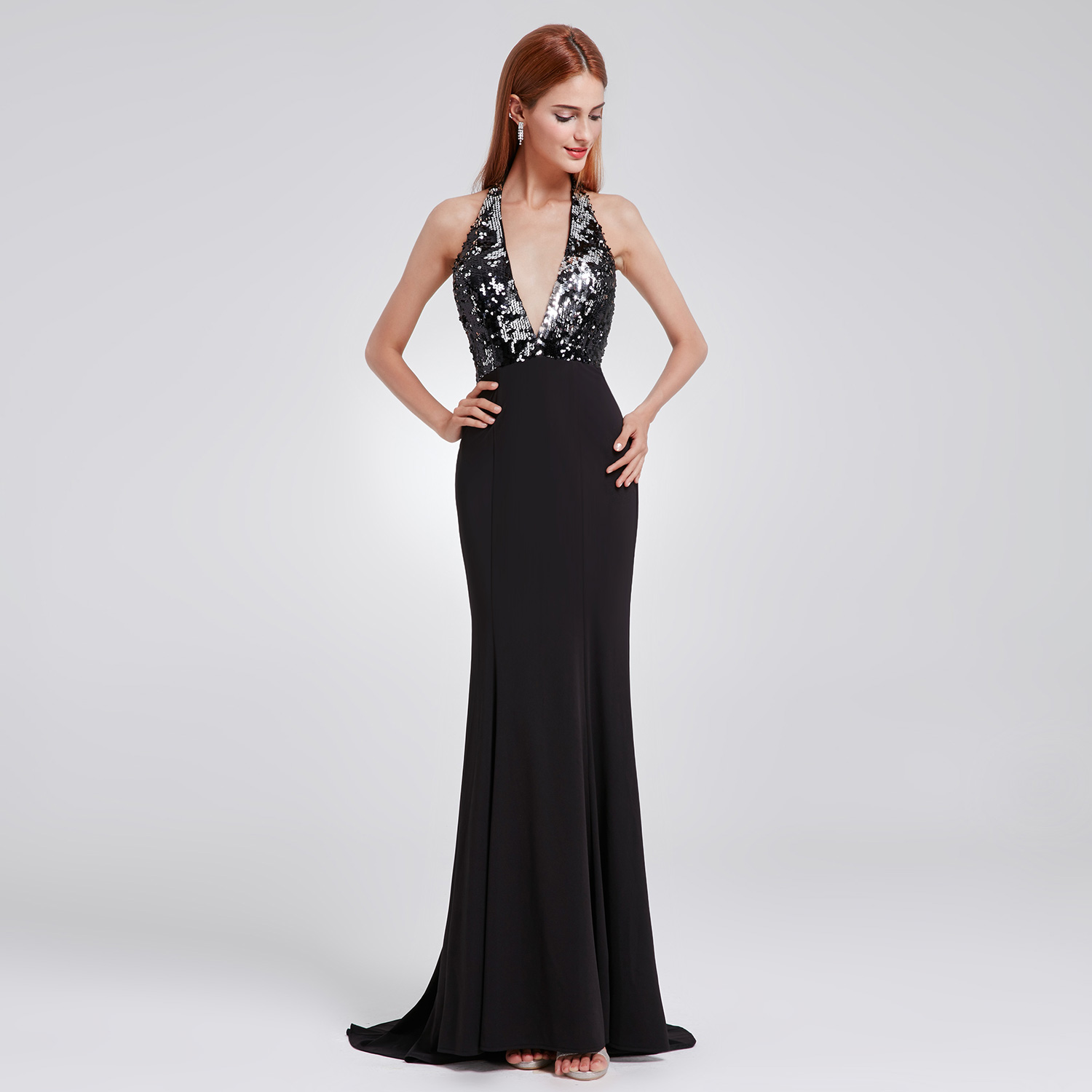 c3822461eea Halter Neck Backless Prom Dress - Data Dynamic AG