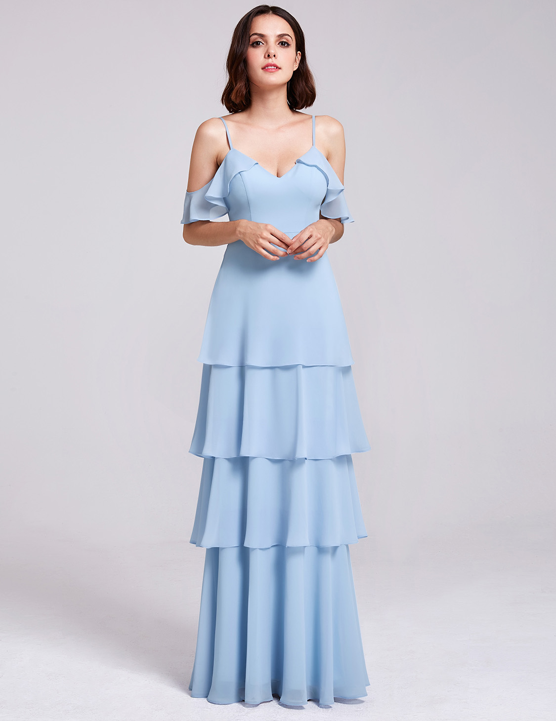 Ever-Pretty US Long Formal Chiffon Evening Gown Party Bridesmaid ...