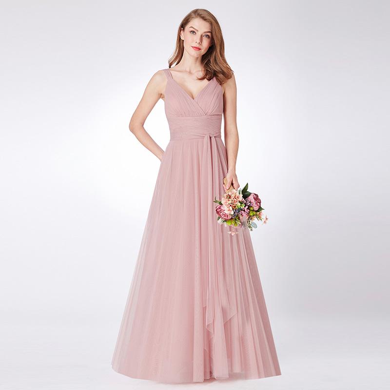 Ever-Pretty Wedding Bridesmaid Dresses Long Maxi Party Homecoming Dresses 07372