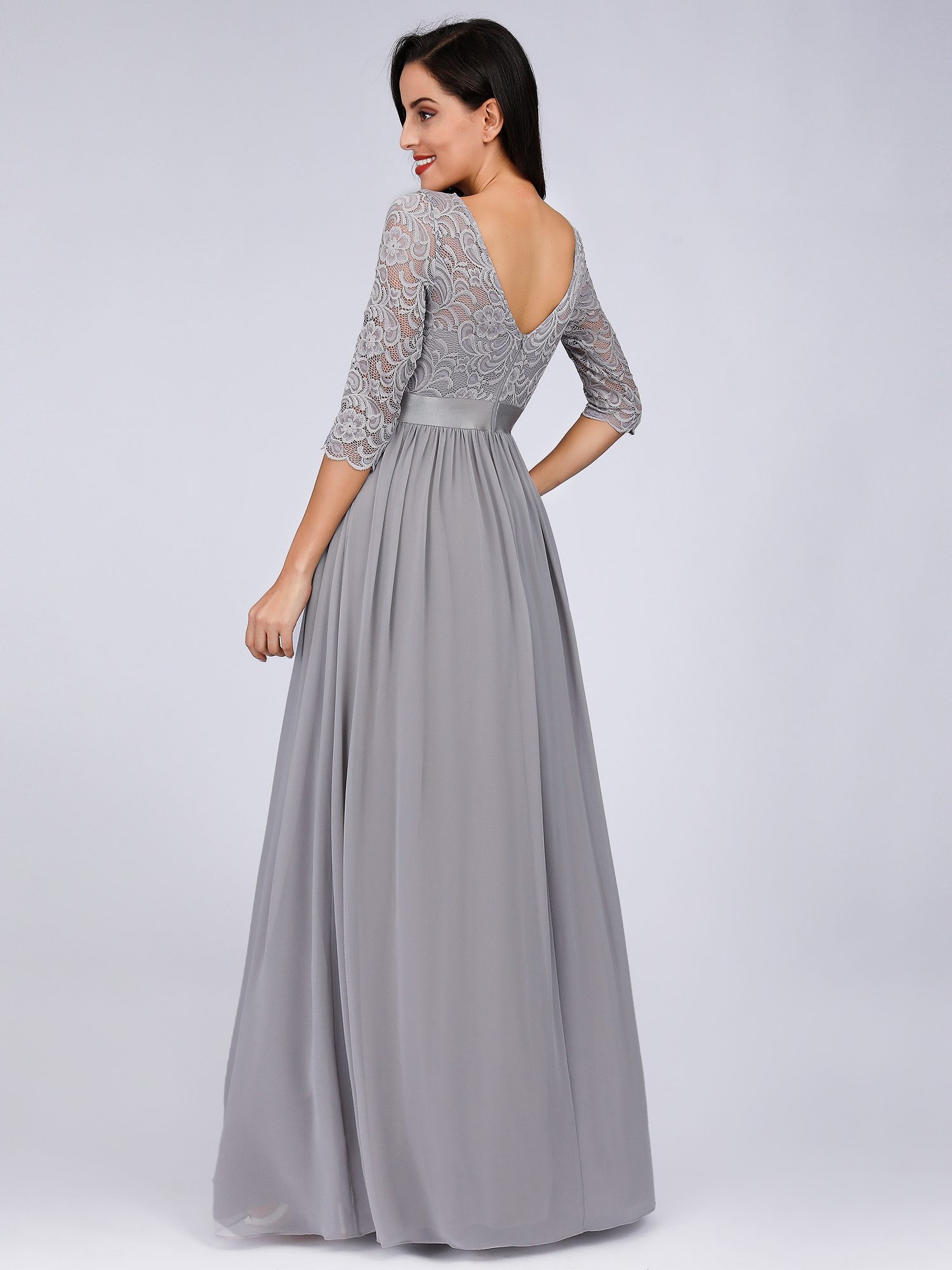 Ever-pretty US Long Mother Of Bride Plus Size Gown Formal ...