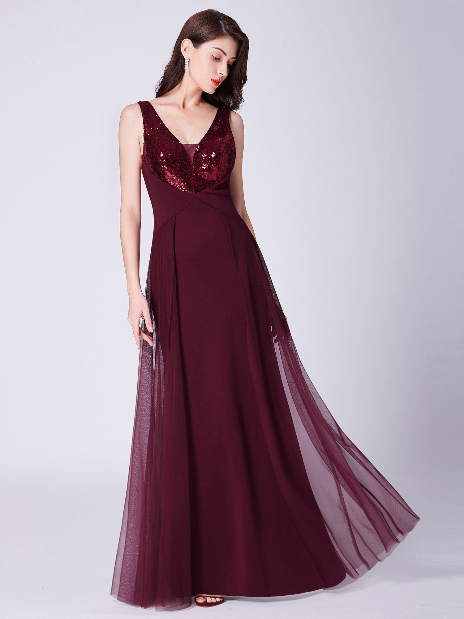 Ever-Pretty-US-Long-Sequins-Formal-Evening-Dresses-Cocktail-Party-Prom-Gown-7453 thumbnail 11
