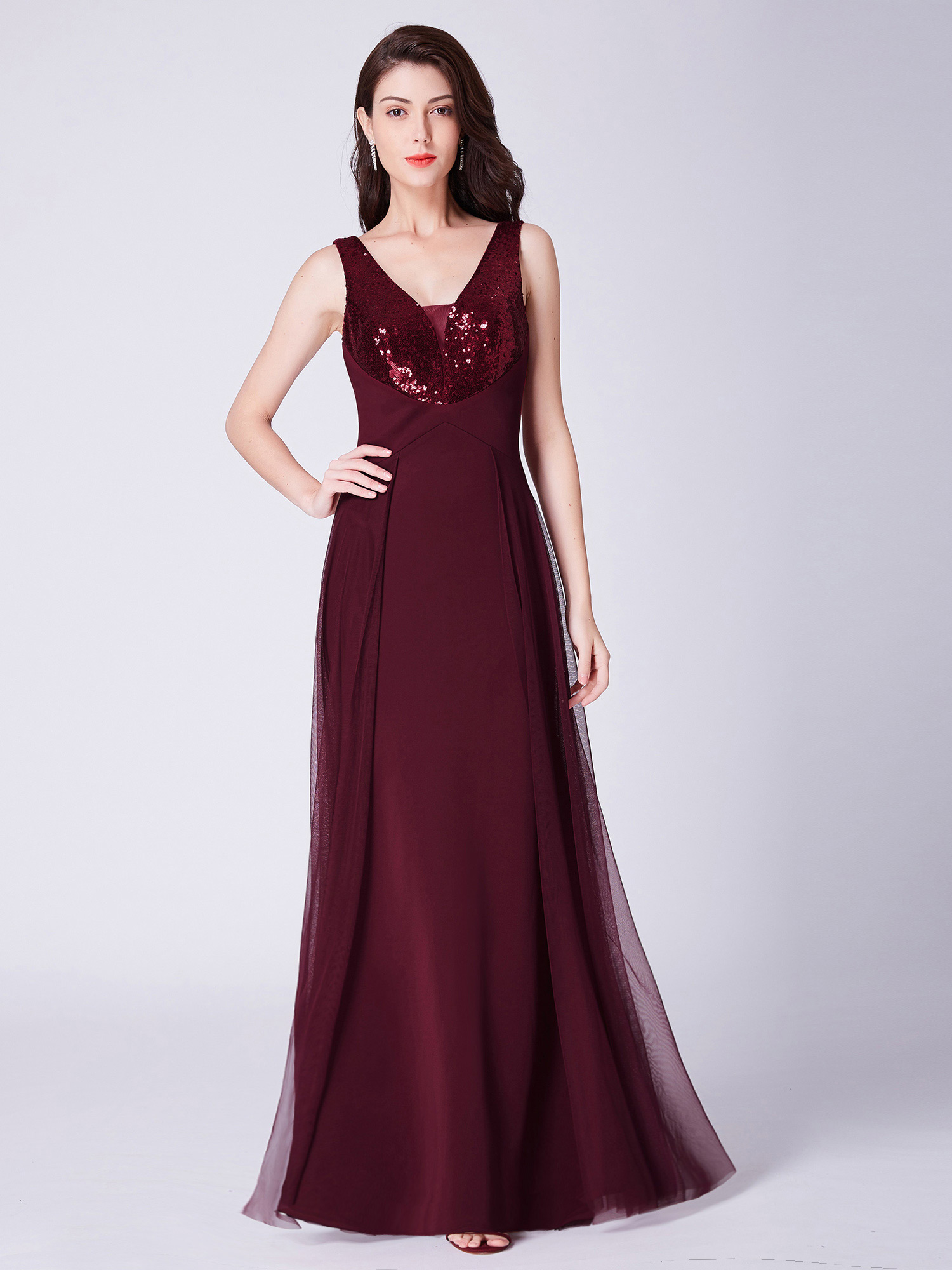 Ever-Pretty-US-Long-Sequins-Formal-Evening-Dresses-Cocktail-Party-Prom-Gown-7453 thumbnail 12