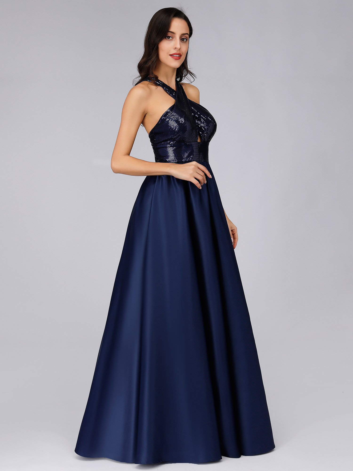Ever-pretty-US-Long-Navy-Blue-Formal-Prom-Gowns-Evening-Cocktail-Party-Dresses thumbnail 6