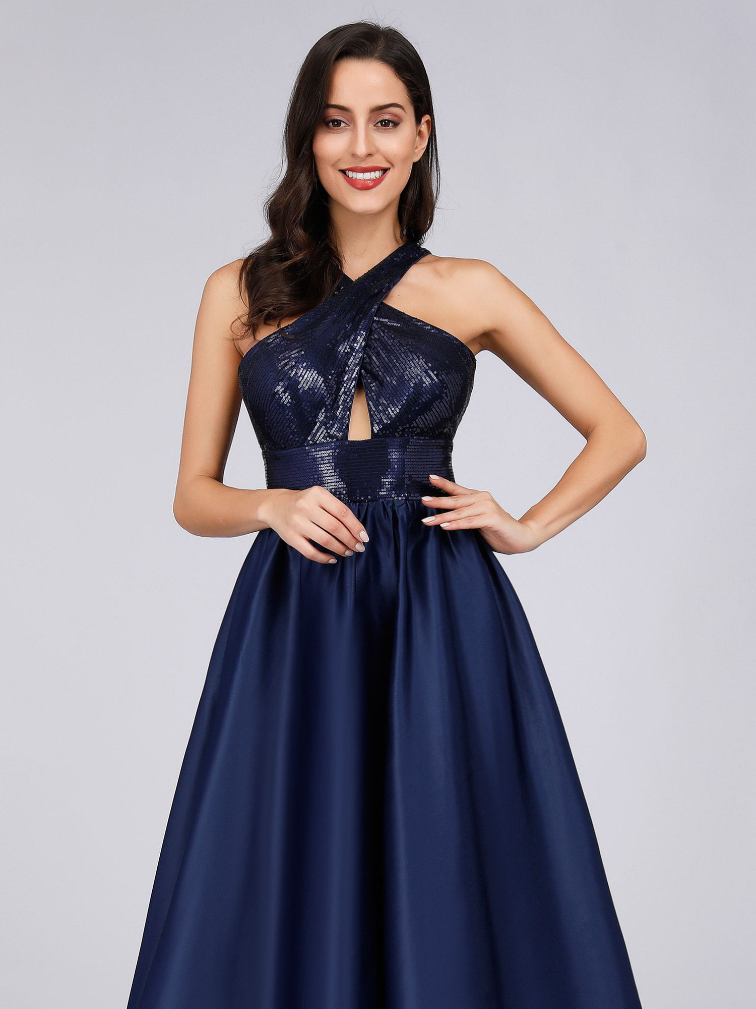 Ever-pretty-US-Long-Navy-Blue-Formal-Prom-Gowns-Evening-Cocktail-Party-Dresses thumbnail 8