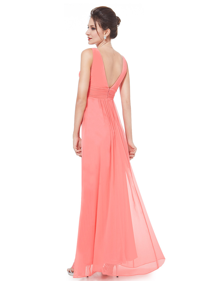 Ever-Pretty-US-Plus-Long-Bridesmaid-Dresses-Chiffon-V-Neck-Formal-Dresses-08110 thumbnail 19