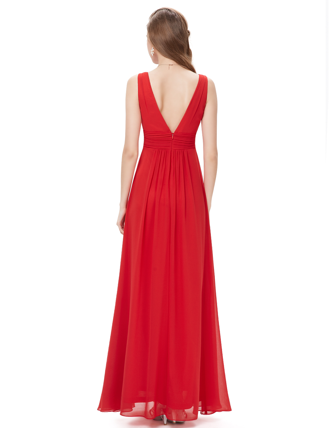 Ever-Pretty-US-Plus-Long-Bridesmaid-Dresses-Chiffon-V-Neck-Formal-Dresses-08110 thumbnail 42