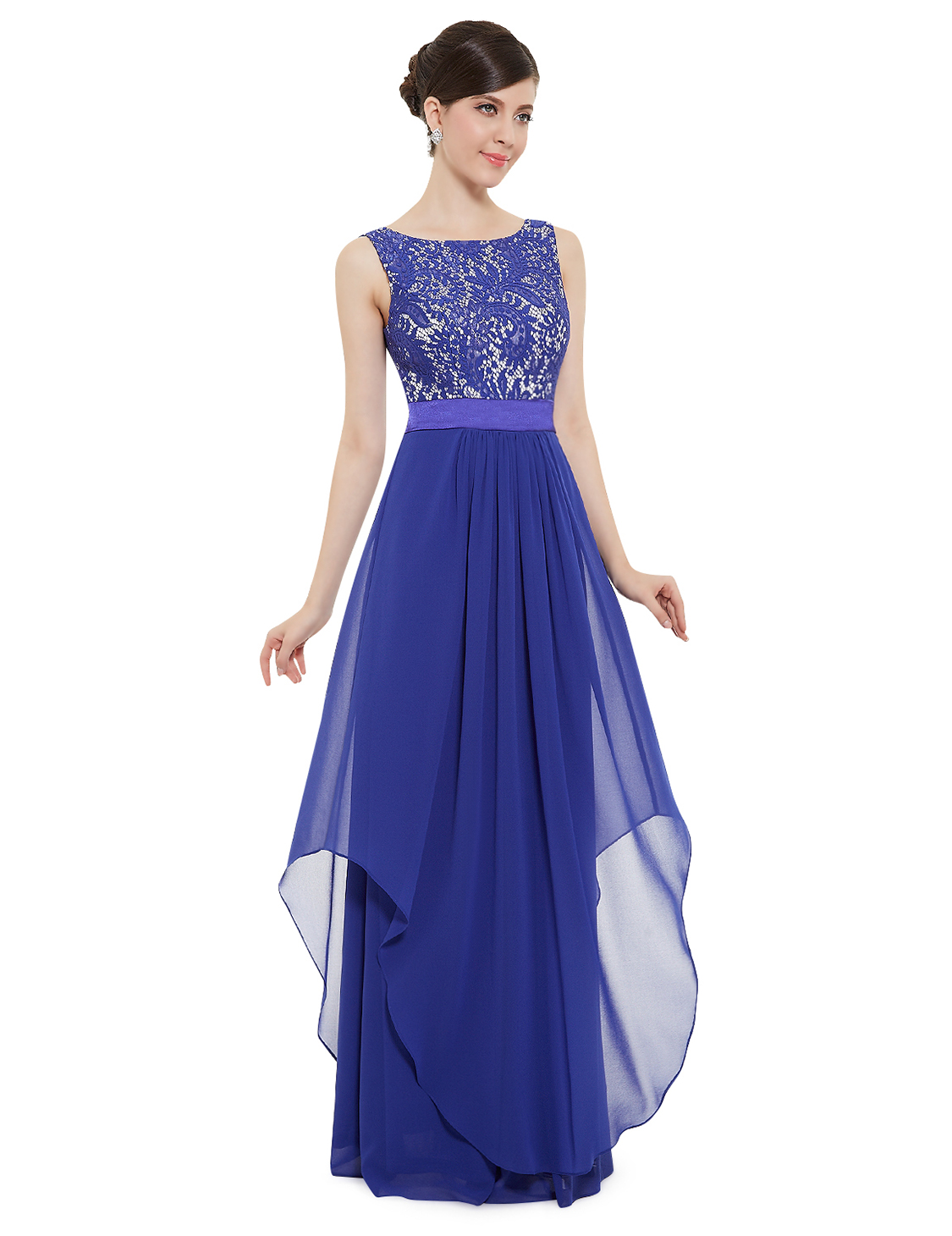 Ever Pretty Uk Women Long Prom Gowns Formal Evening Party Dresses