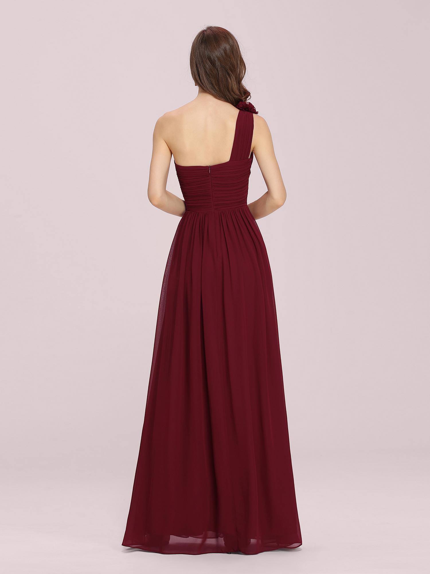Ever-Pretty-US-Long-Bridesmaid-Dresses-One-Shoulder-Evening-Party-Dresses-08237 thumbnail 17