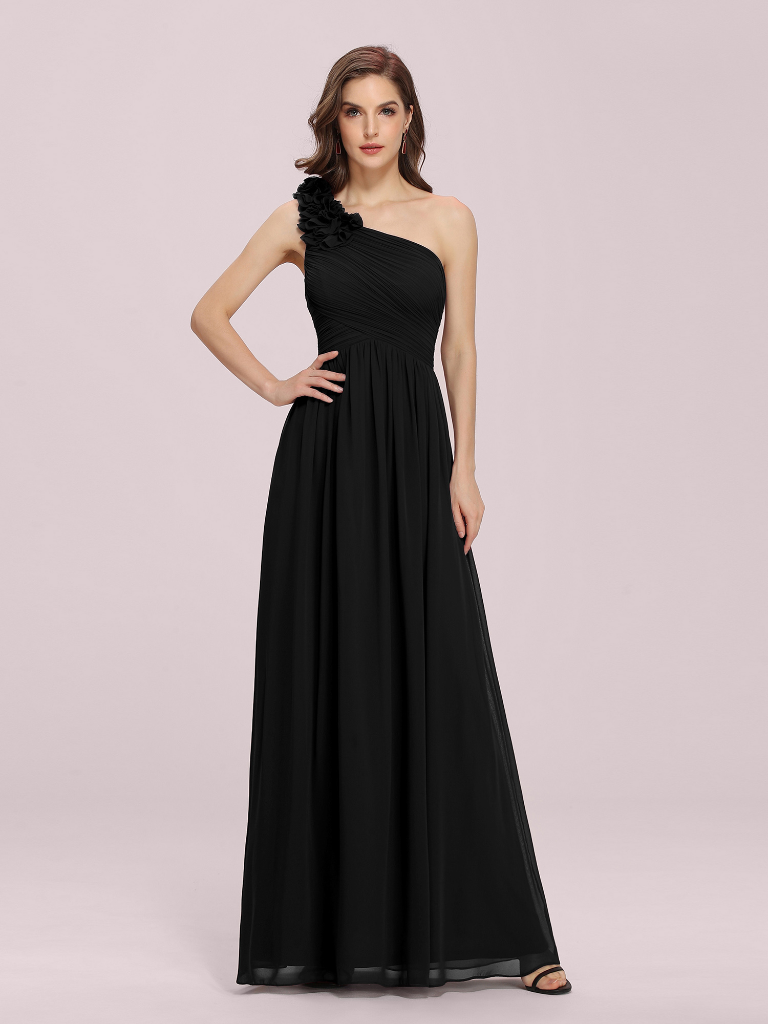 Ever-Pretty Long Formal Party Dresses One Shoulder Wedding Evening ...