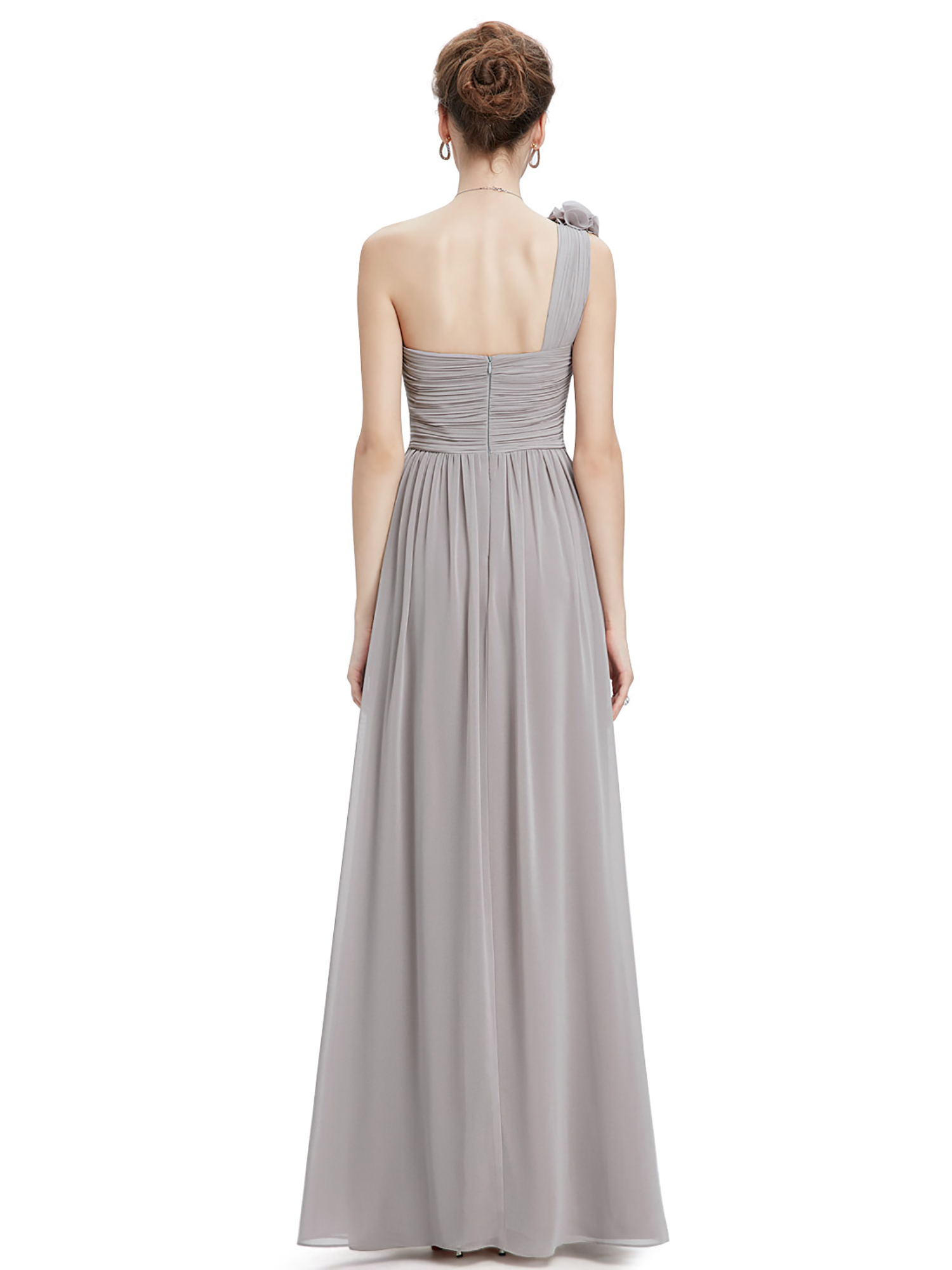 Ever-Pretty-US-Long-Bridesmaid-Dresses-One-Shoulder-Evening-Party-Dresses-08237 thumbnail 29