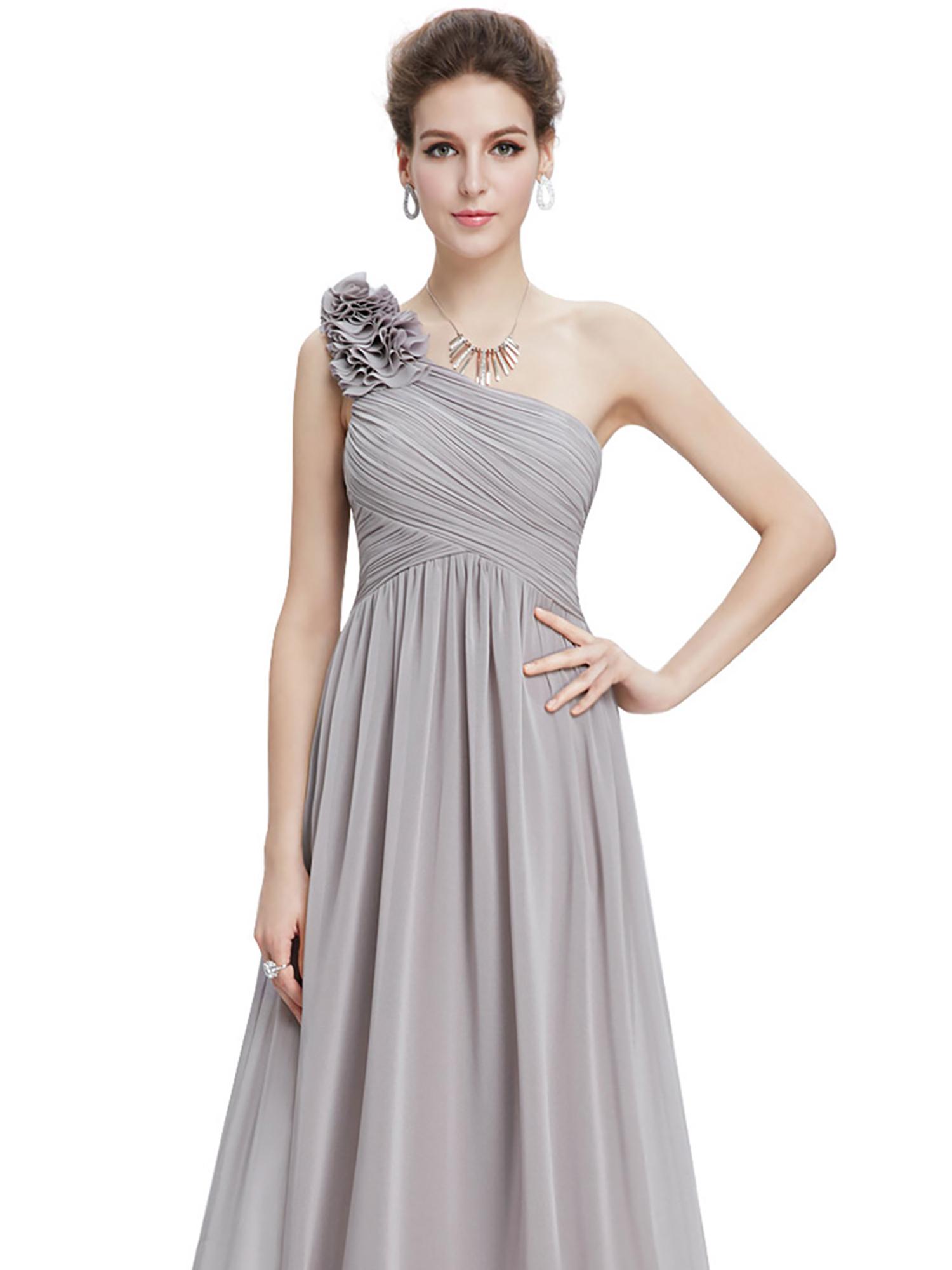 Ever-Pretty-US-Long-Bridesmaid-Dresses-One-Shoulder-Evening-Party-Dresses-08237 thumbnail 30