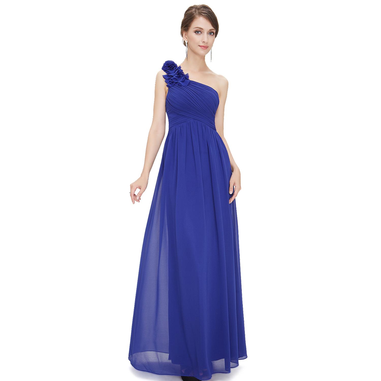 One shoulder bridesmaid dress long formal evening prom party 08237 one shoulder bridesmaid dress long formal evening prom ombrellifo Images