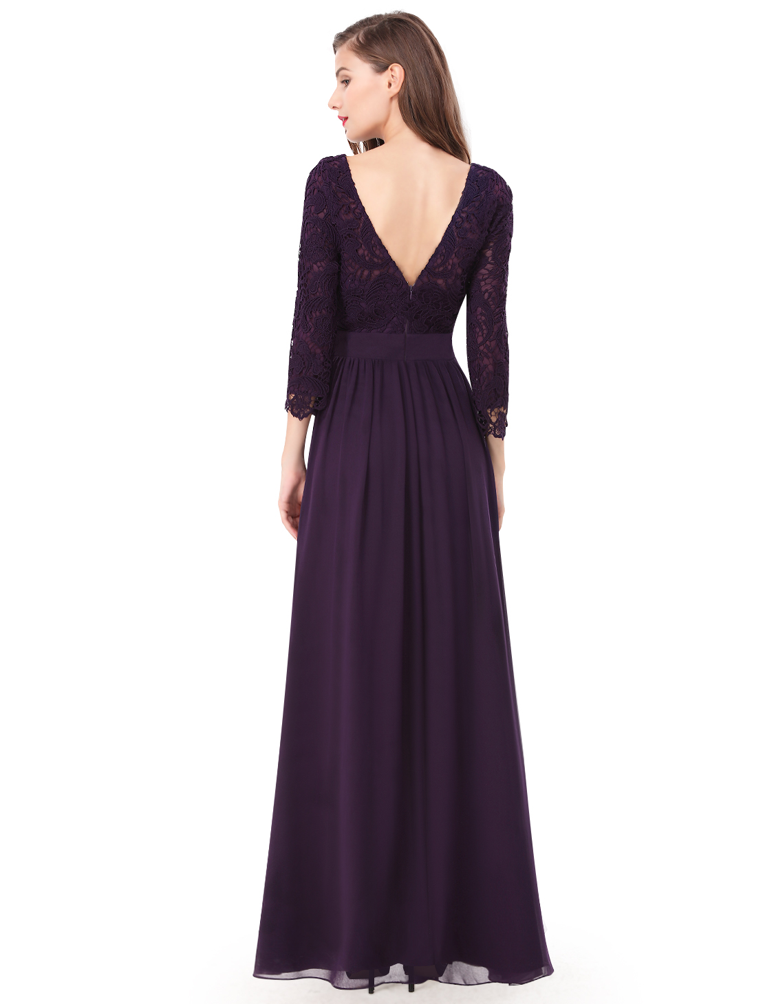 188375ce3df Ever Pretty US Long Mother Of The Bride Dresses Lace Formal Evening ...