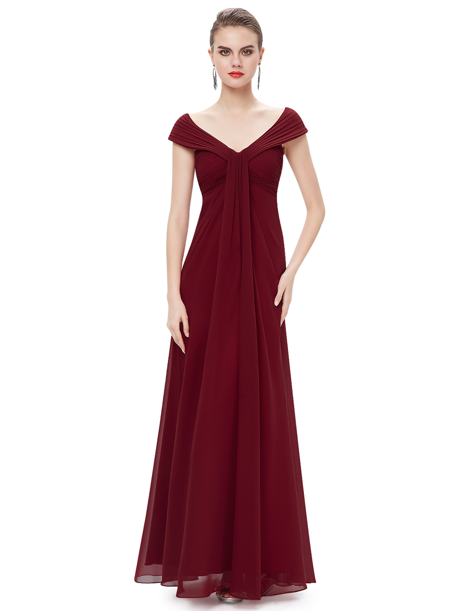 burgundy wedding dresses pretty burgundy bridesmaid dress cocktail 2130