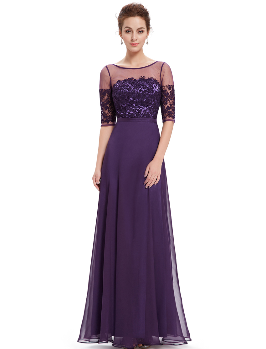 UK Womens 2018 Long Prom Short Sleeve Lace Maxi Formal Party Evening ...