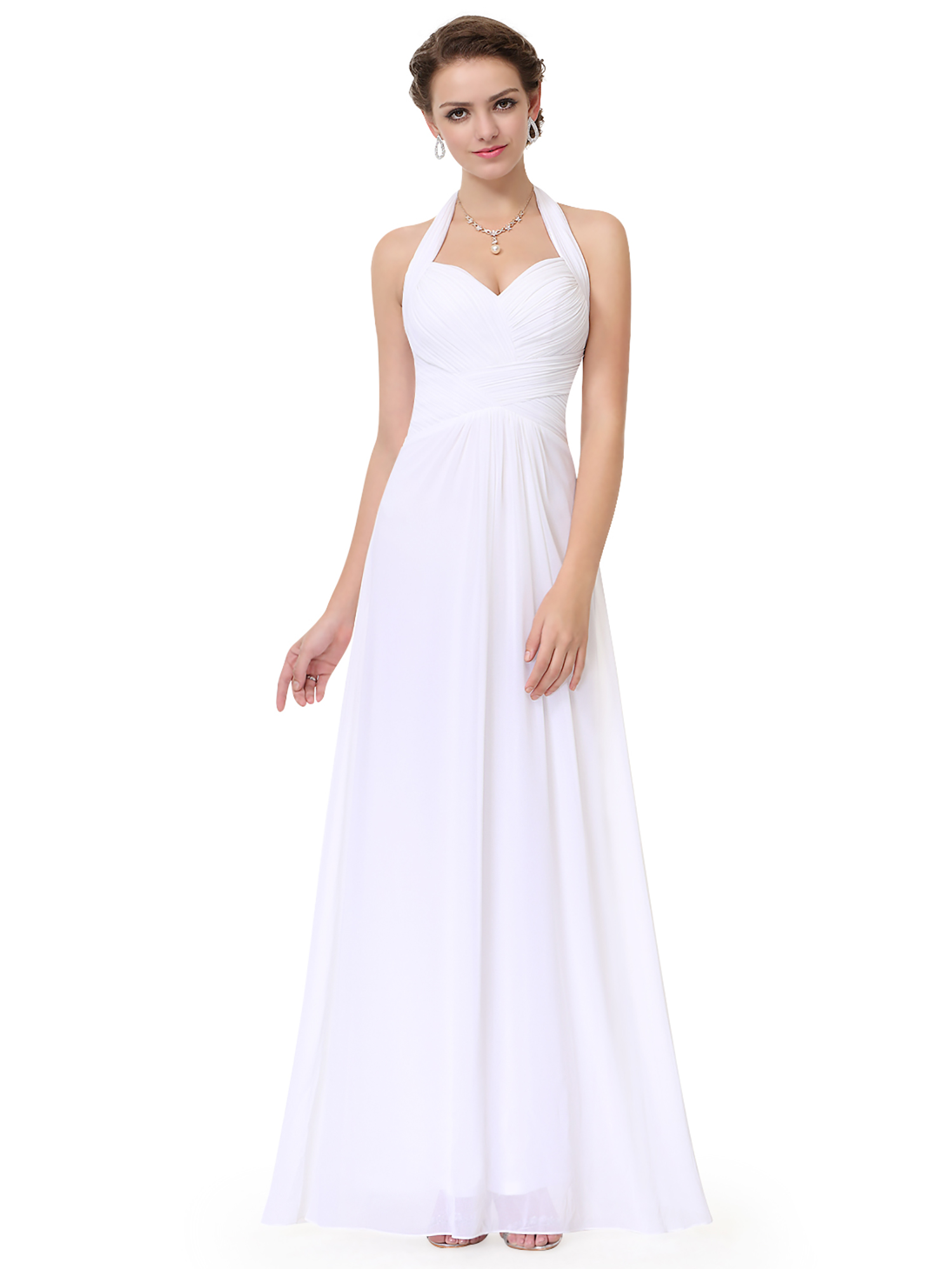 Chiffon Long Formal Evening Gown Party Prom Bridesmaid Dresses 08487 ...