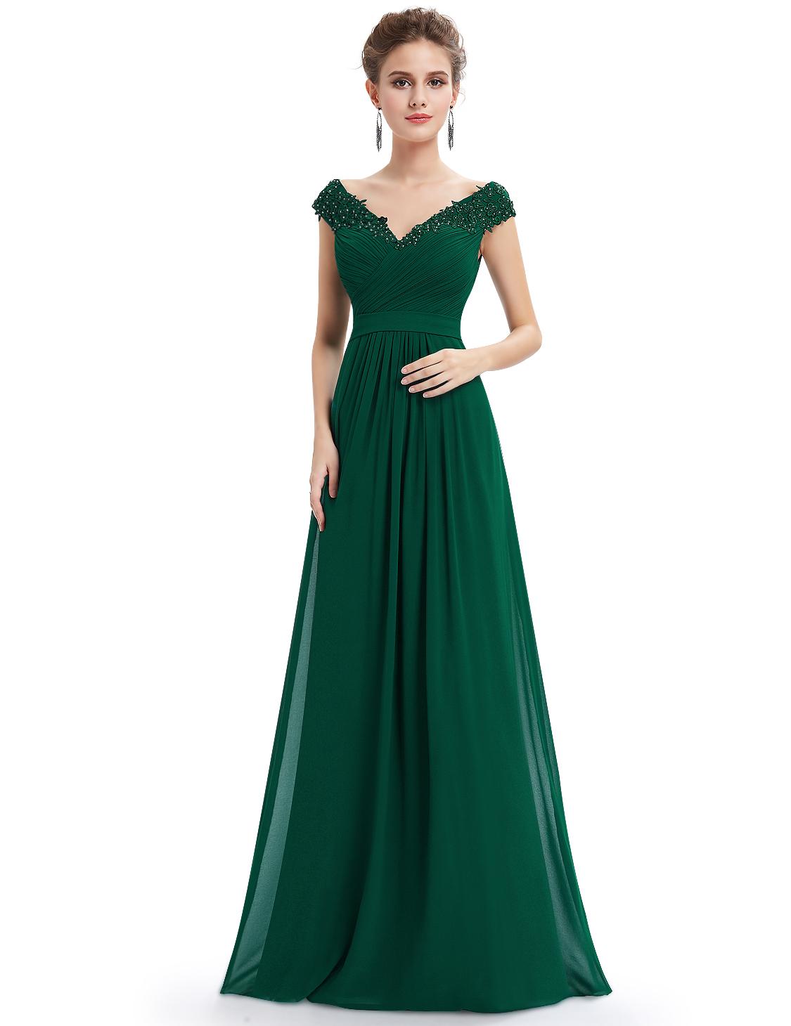 Pretty Dresses Green Ball