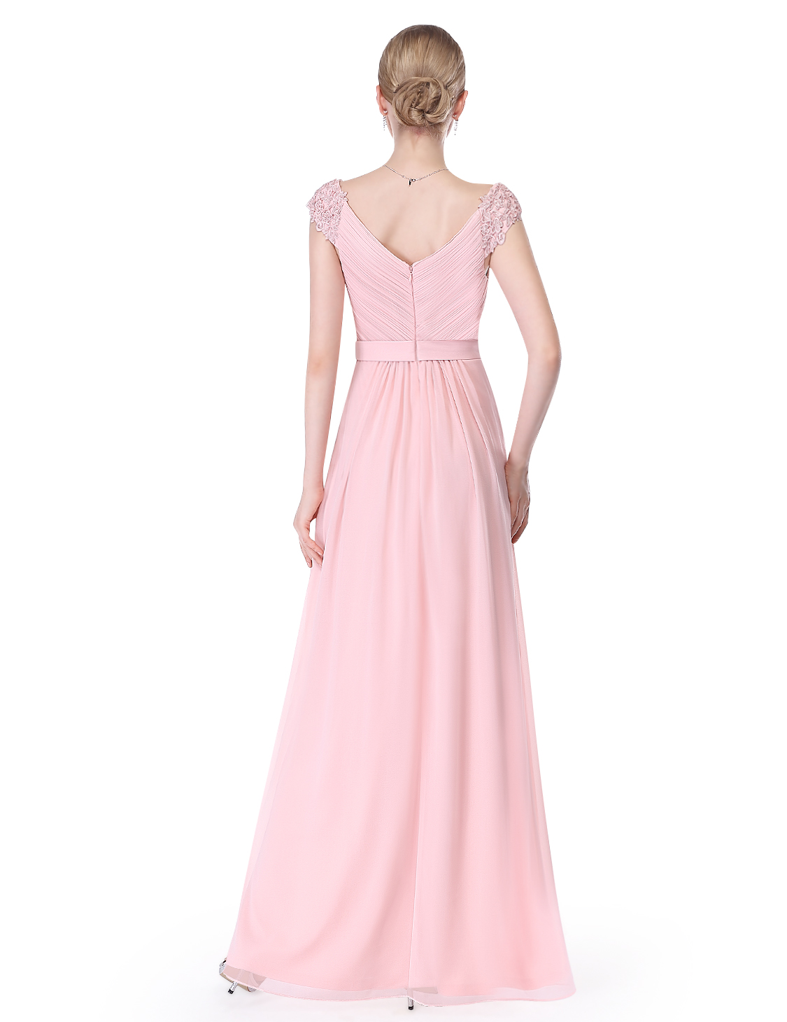 Ever-Pretty Cap Sleeve Mother of Bride Dress Beaded Evening Party ...