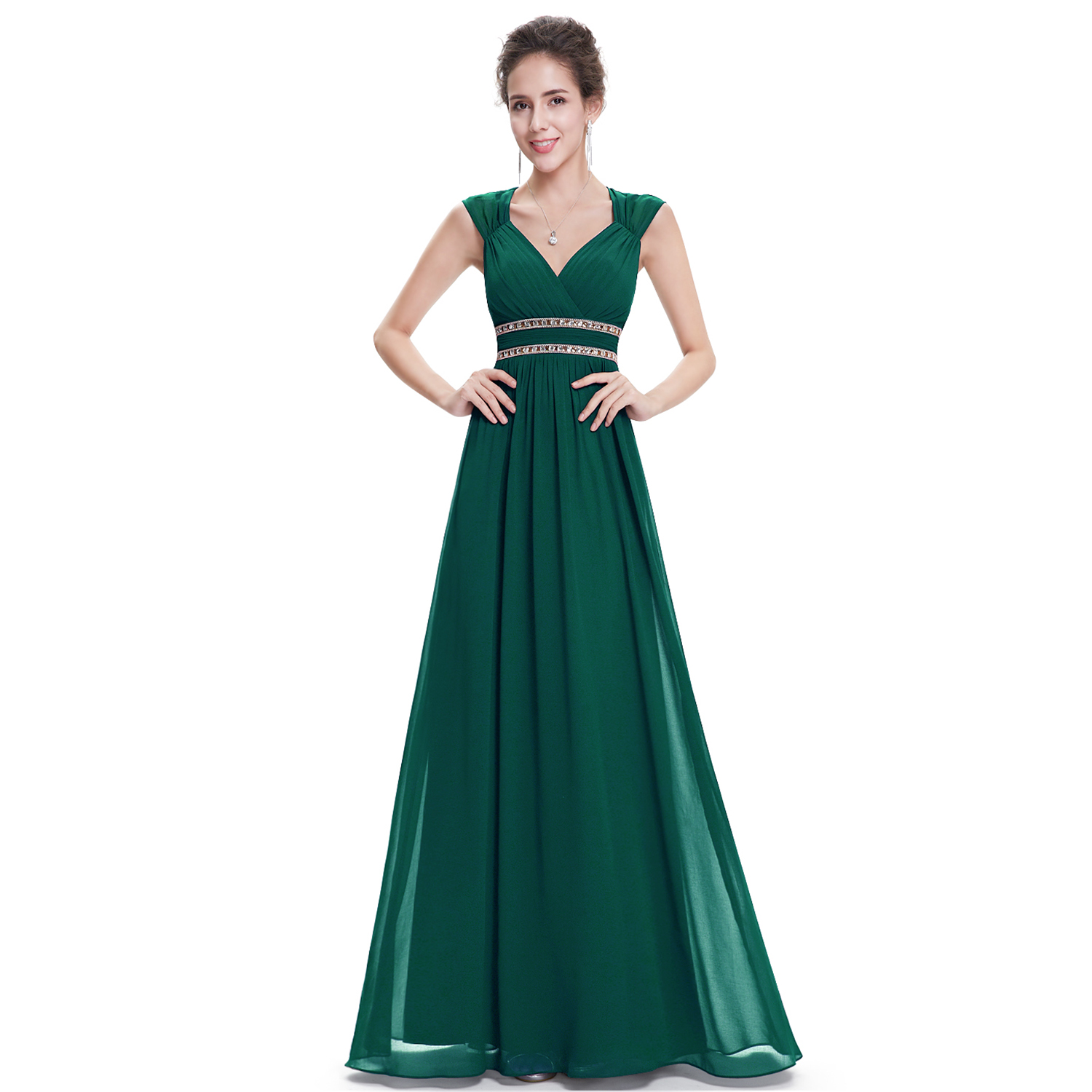 Evening Prom Gowns Beaded Formal Bridesmaid Midnight Dresses 08697 ...