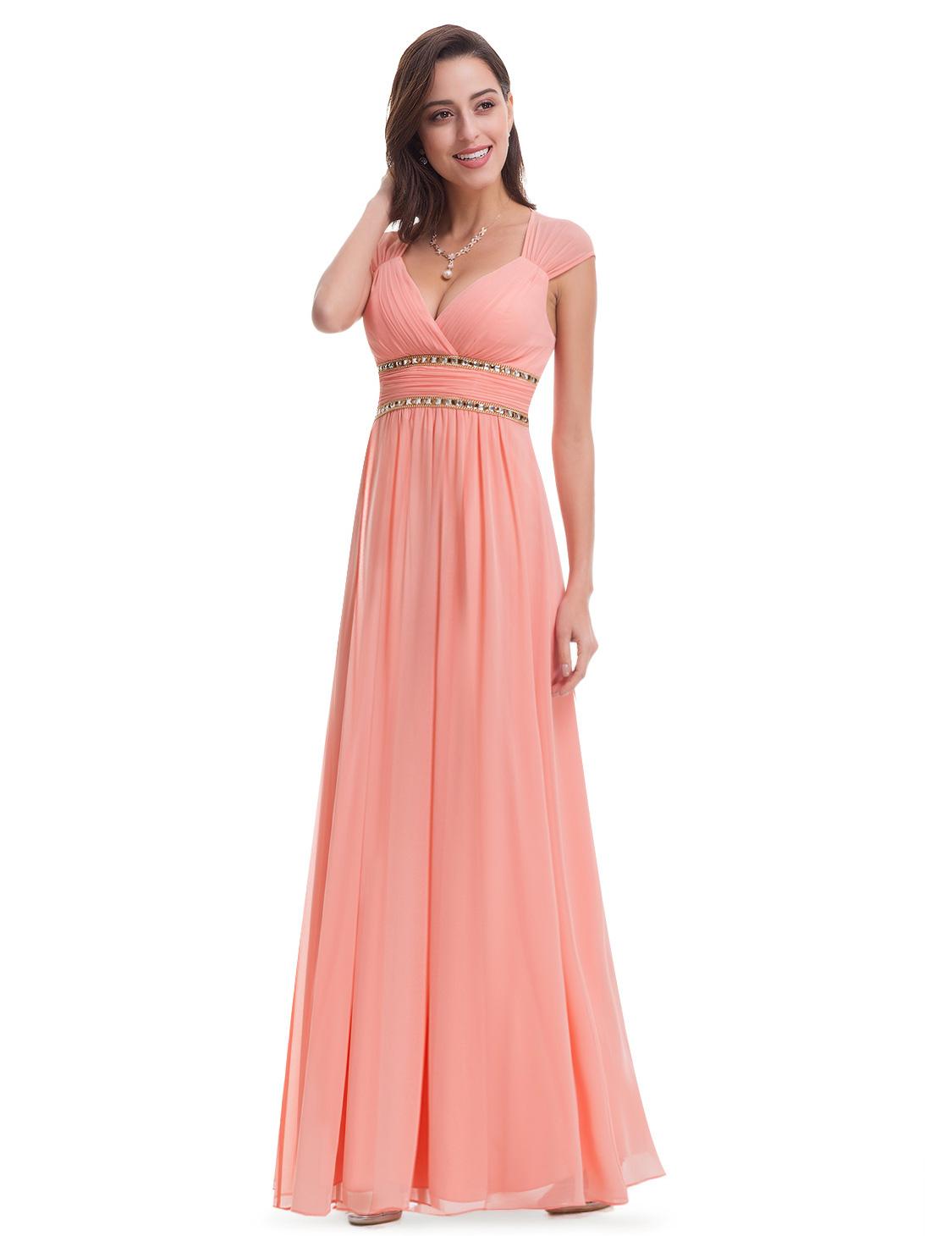 Ever pretty us women 39 s long bridesmaid evening formal for Ever pretty wedding dresses