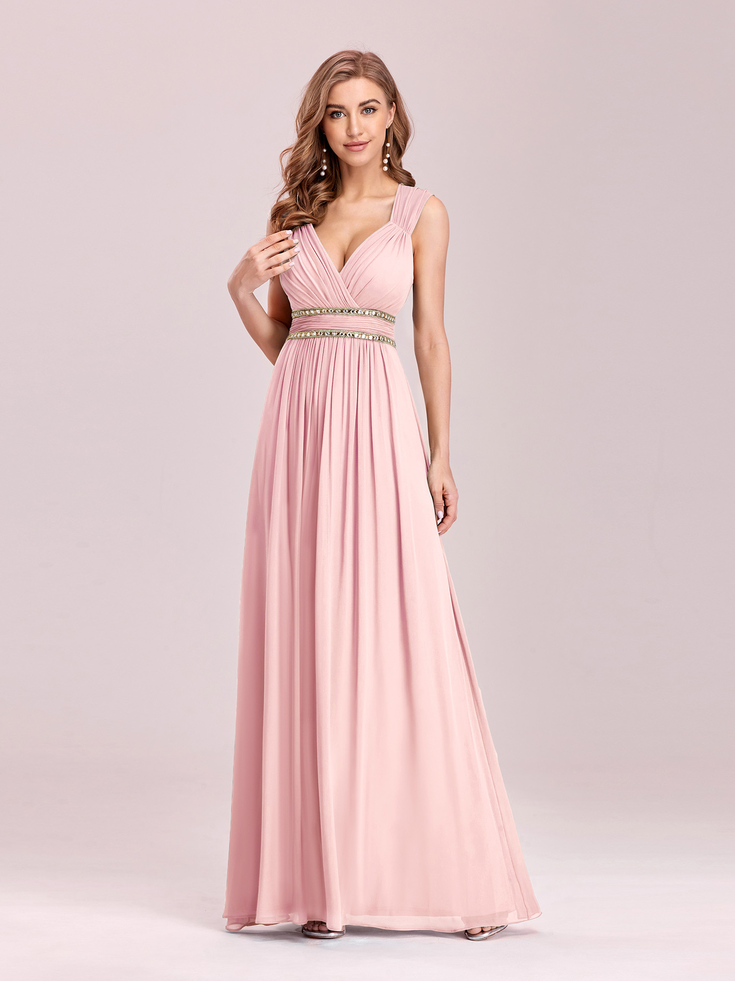 Ever-Pretty Evening Dress Beaded Wedding Formal Bridesmaid Party ...