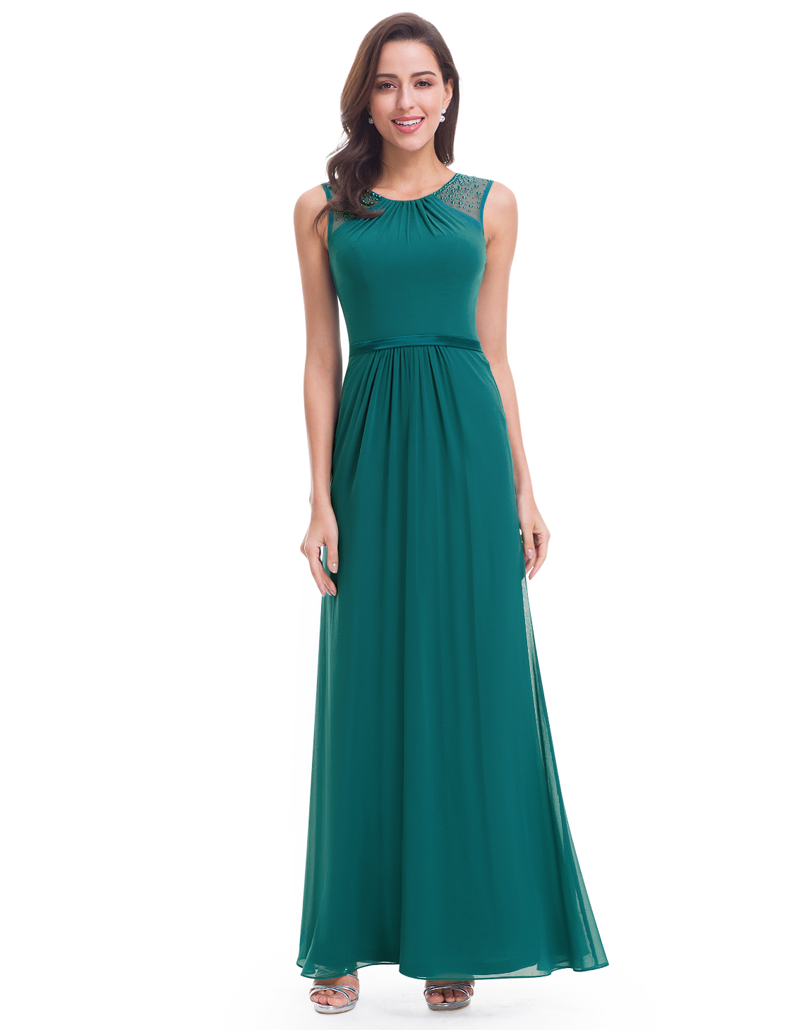 Ever-Pretty Bridesmaid Dresses Long Chiffon Evening Party Ball Dresses 08742 | EBay