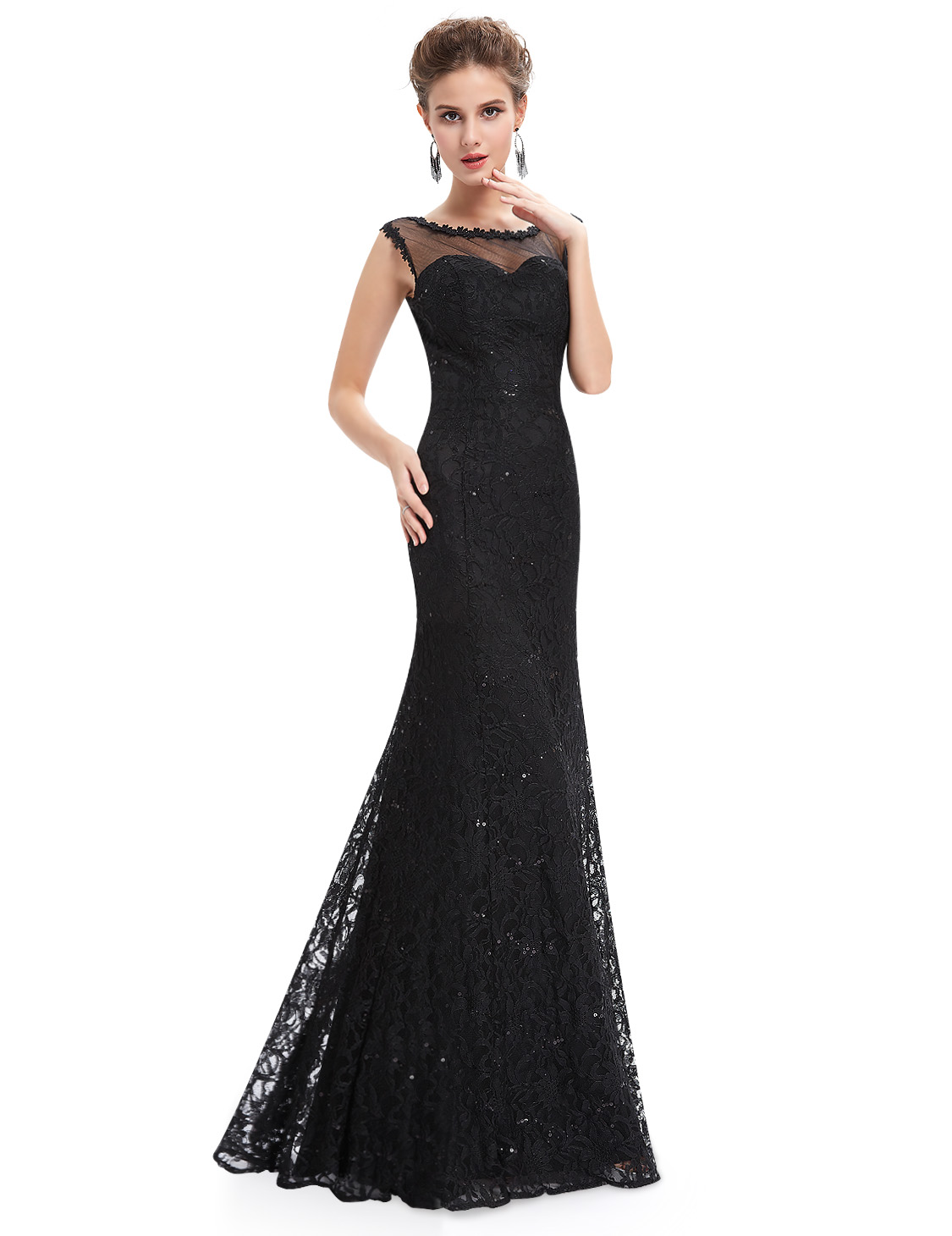 Ever Pretty Lace Long Formal Evening Dress Cocktail Party ...