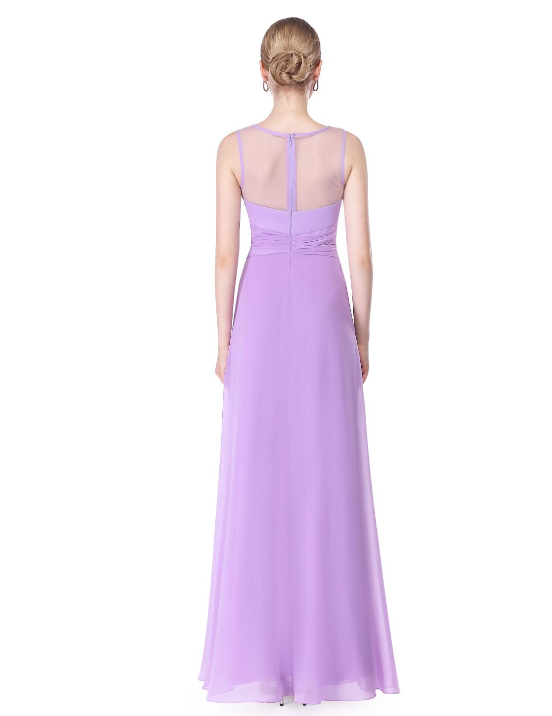 Ever-Pretty Long Sleeveless Bridesmaid Dresses Evening Party Maxi ...