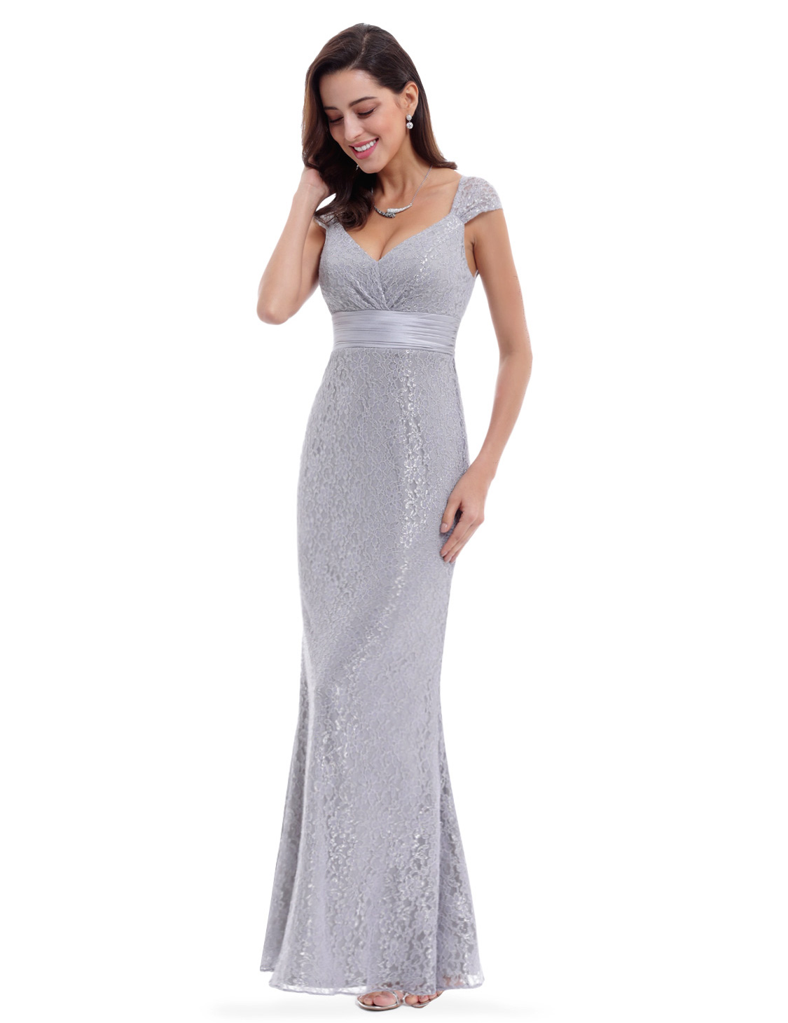 Ever pretty uk long grey bridesmaid gown party formal maxi wedding ever pretty uk long grey bridesmaid gown party junglespirit Image collections
