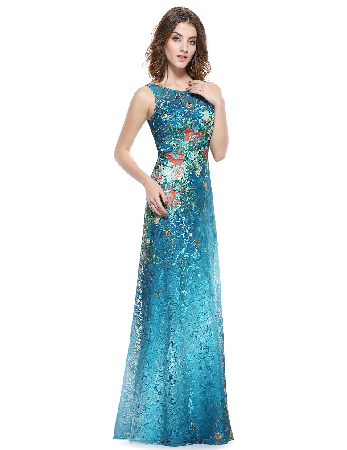 Ever-pretty 2018 Long Womens Floral Prom Evening Cocktail Party ...